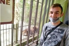 Wychowanek i niedźwiedź