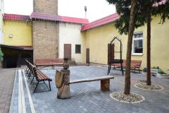 Plac na terenie zakładu