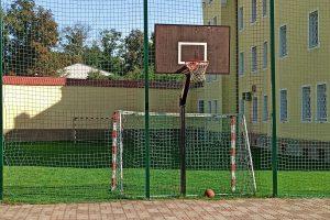 Kosz do gry w koszykówkę